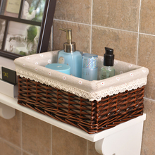 2019 New Arrival None Plant Fiber Rattan Neatening/storage Storage Baskets Willow Knitting Basket For Household Use In Kitchen