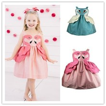 Princess dress girls dresses unicorn party flamingo  baby girl clothes clothing kids