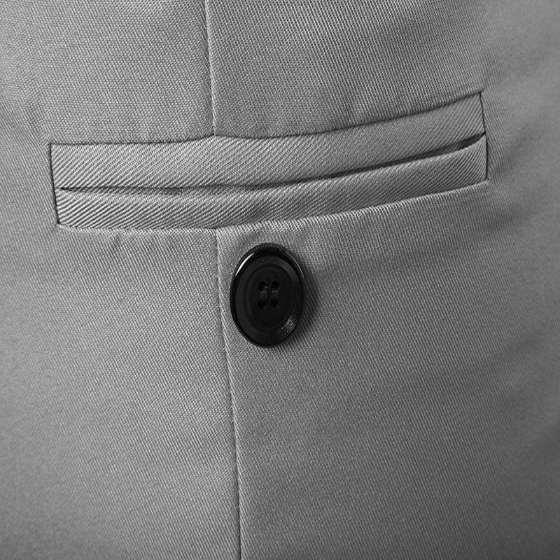 Vest Men 39 s European And American Fashion Solid Color Multi button Men 39 s Vest Men 39 s VestM15 in Tank Tops from Men 39 s Clothing