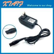 필립스 norelco 면도기 용 충전기 전원 공급 장치 어댑터 multigroom pro bodygroom trimmer 미국/eu 플러그