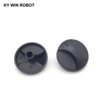 10PCS 6mm Potentiometer Plastic Knob 31x17mm conductive plastic potentiometer bi 6187 110a r1k axis 6mm