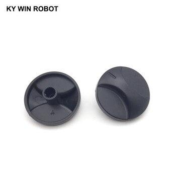 10PCS 6mm Potentiometer Plastic Knob 31x17mm bi 6187 181a r1k tapped conductive plastic potentiometer 4p