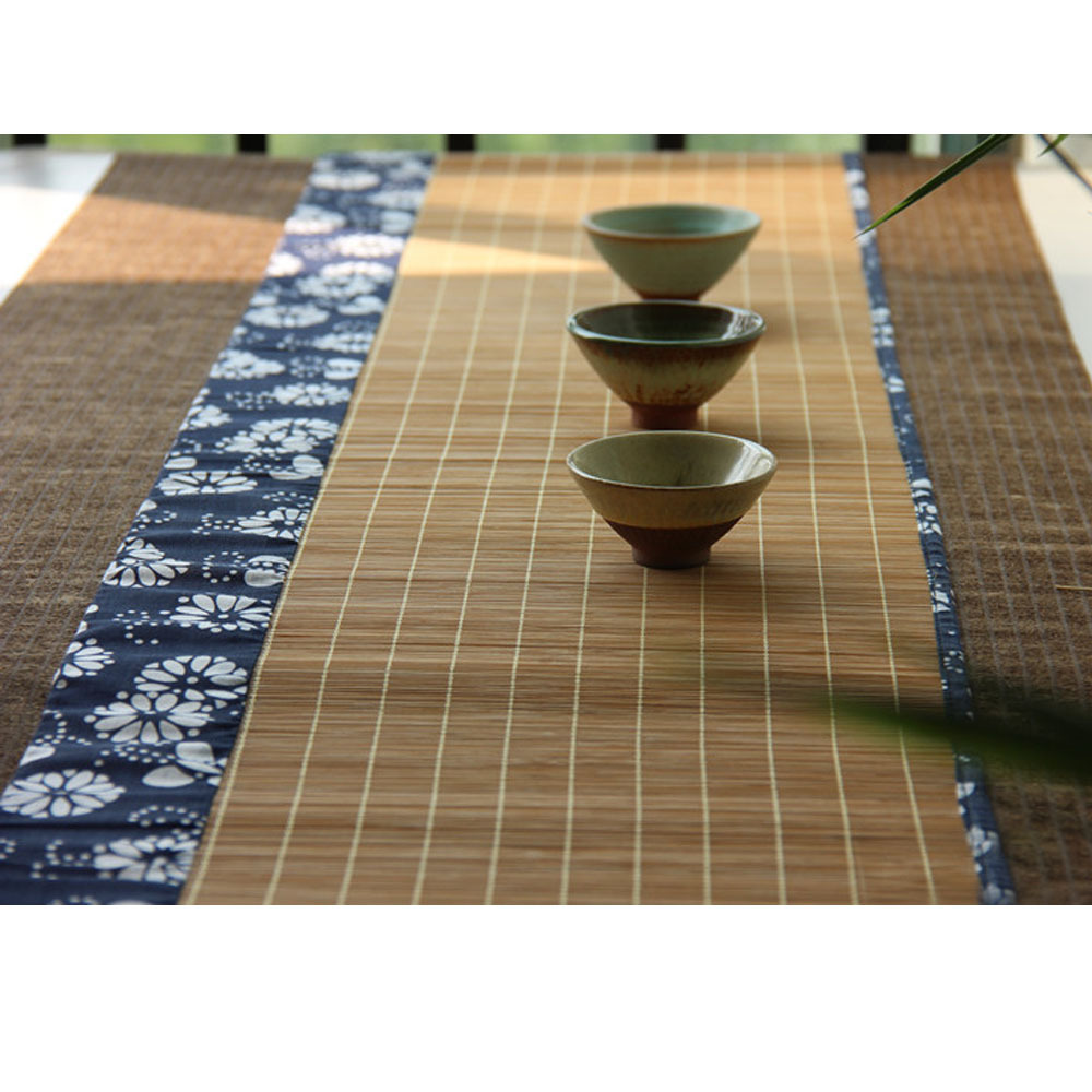 Bamboo table runner - Aliexpress Com Buy 30 60cm Natural Bamboo Placemats Table Runner Chinese Gongfu Tea Mats Wholesale Drink Kitchen Small From Reliable Kitchen Compost