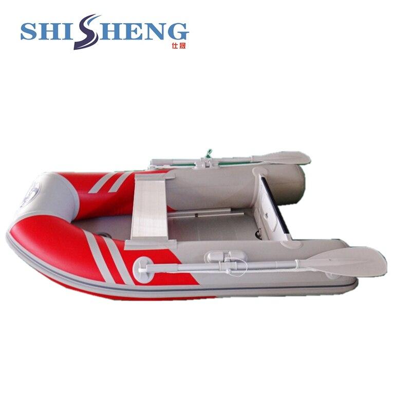2018 petit bateau de pêche chinois/bateau gonflable en pvc pour une personne - 5