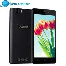 Оригинал DOOGEE X5 Pro мобильные телефоны 5.0 дюйма HD 2 ГБ Оперативная память 16 ГБ Встроенная память Android5.1 Dual SIM MTK6735 4 ядра 5.0MP GSM WCDMA LTE
