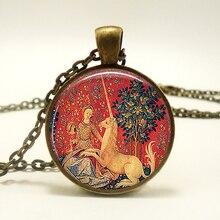 Renaissance Vintage Pendant Necklace