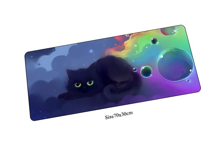 nyan cat mouse pad cool gaming mousepad gamer mouse mat pad game computer size90x40cm desk padmouse laptop large play mats