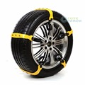 1pc Car Snow Tire Chains Beef Tendon Vehicles Wheel Anti-skid TPU Chain