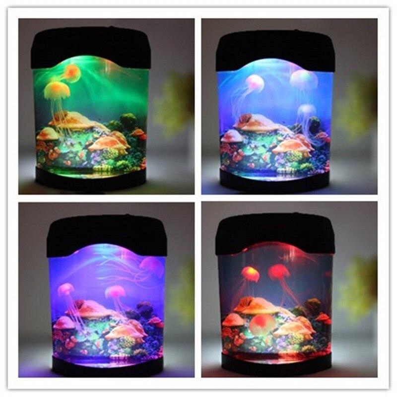 Fenglaiyi água viva tanque mundo marinho natação