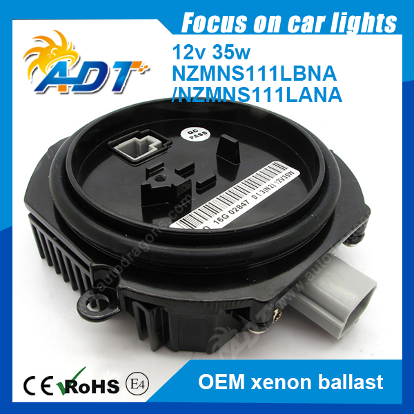 OEM Ballast D1 D3 NZMNS111LBNA; NZMNS111LA 2003-2009 For Nissan 350Z Coupe Xenon Headlight HID Ballast Light Control Computer 63117237647 xenon d1s headlight ballast computer control for bmw1 7237647