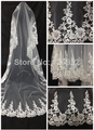 Free shipping new wedding accessories bridal veil lace wedding dress accessories wedding veils for brides