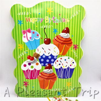 Pleasing Best Promo F50Xn 1Pcs Lot Party Supplies Birthday Cake Theme Funny Birthday Cards Online Benoljebrpdamsfinfo