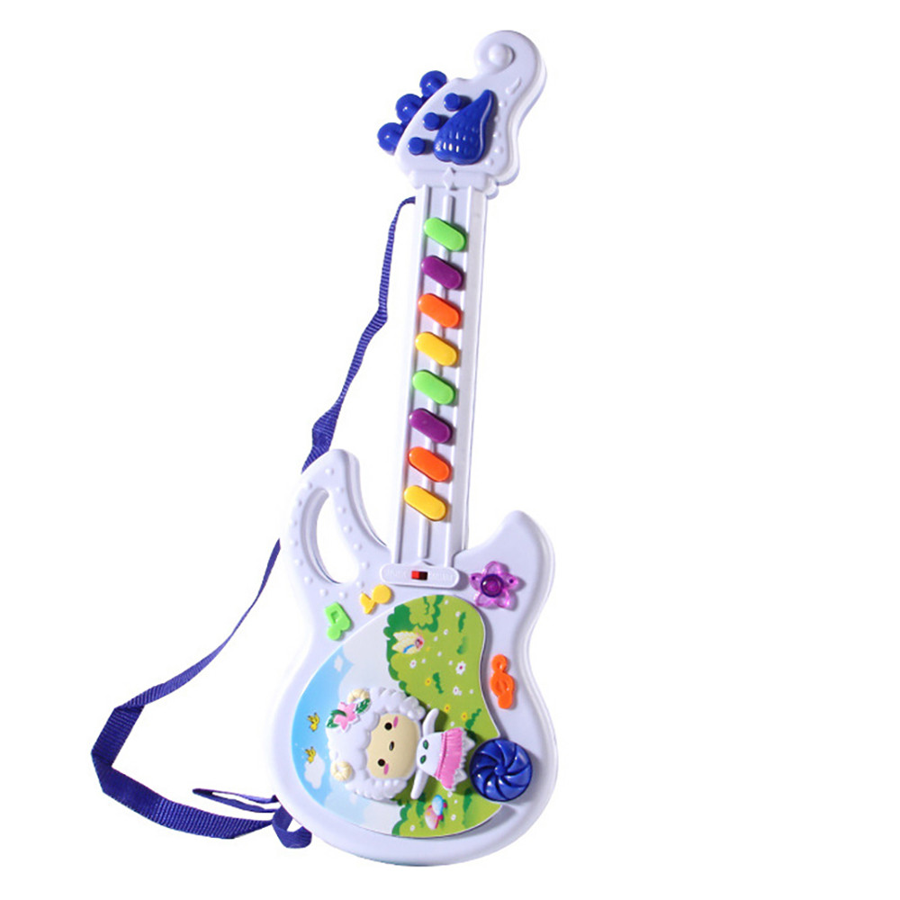 Electric Guitar Toy Musical Play For Kid Boy Girl Toddler Learning Electron Toy Kids Toys 2019 NEW HOT#E20