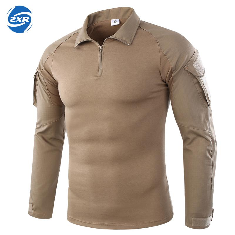 Men's Shirts Outdoor Hiking shirts Military Tactical Shirt Men Camouflage Shirt For Shooting Hunting Plus Size brief plus size buttoned horizontal line pineapple embellished shirt for women