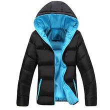 Kvalitní lehká zimní bunda na zip pro muže, velikost 4XL