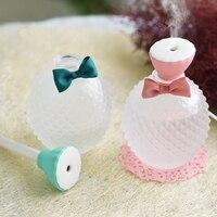 300ML Crystal Perfume Bottle Aroma Oil Diffuser USB Mini Ultrasonic Air Aromatherapy Humidifier Mist Maker Home Office Noiseless