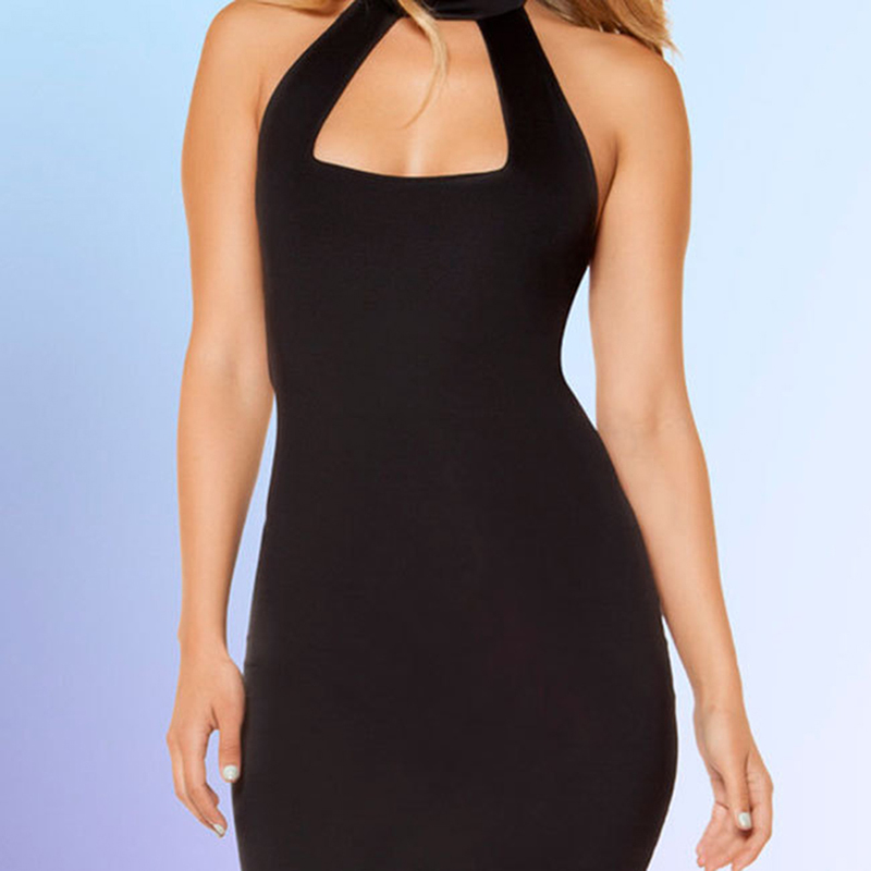 Women Sexy   Nightgowns   Lingerie One Size Female   Sleepshirts   Clubwear Sexy Halter Backless Costumes Sleep Dress