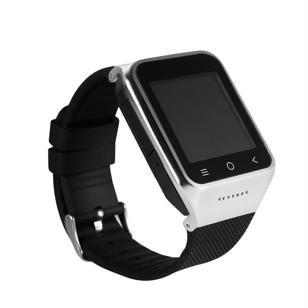Black WIFI Bluetooth 4.0 FM Recorder 1.2GHz Dual Core 1.54 240X240 Camera Capacitive Touch Screen Sports Smart WatchBlack WIFI Bluetooth 4.0 FM Recorder 1.2GHz Dual Core 1.54 240X240 Camera Capacitive Touch Screen Sports Smart Watch