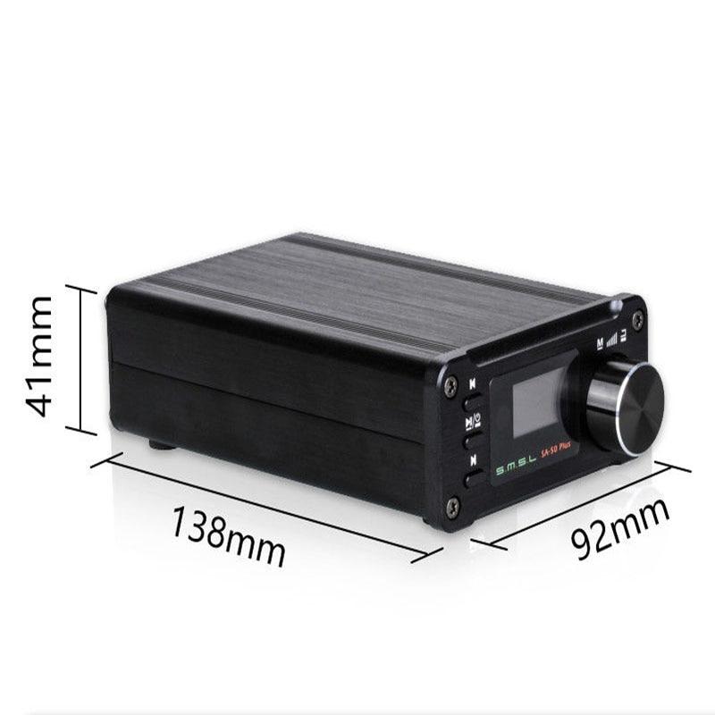 SMSL SA 50 PLUS SA50 AUX USB Mini 50W * 2 Power Digital Verstärker - 5