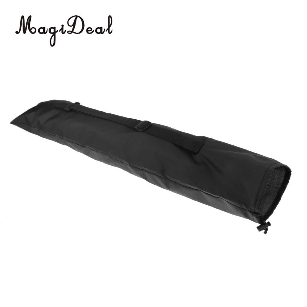 Portable Alpenstock Hiking Walking Stick Pole Bag 71 x 17.5cm Black