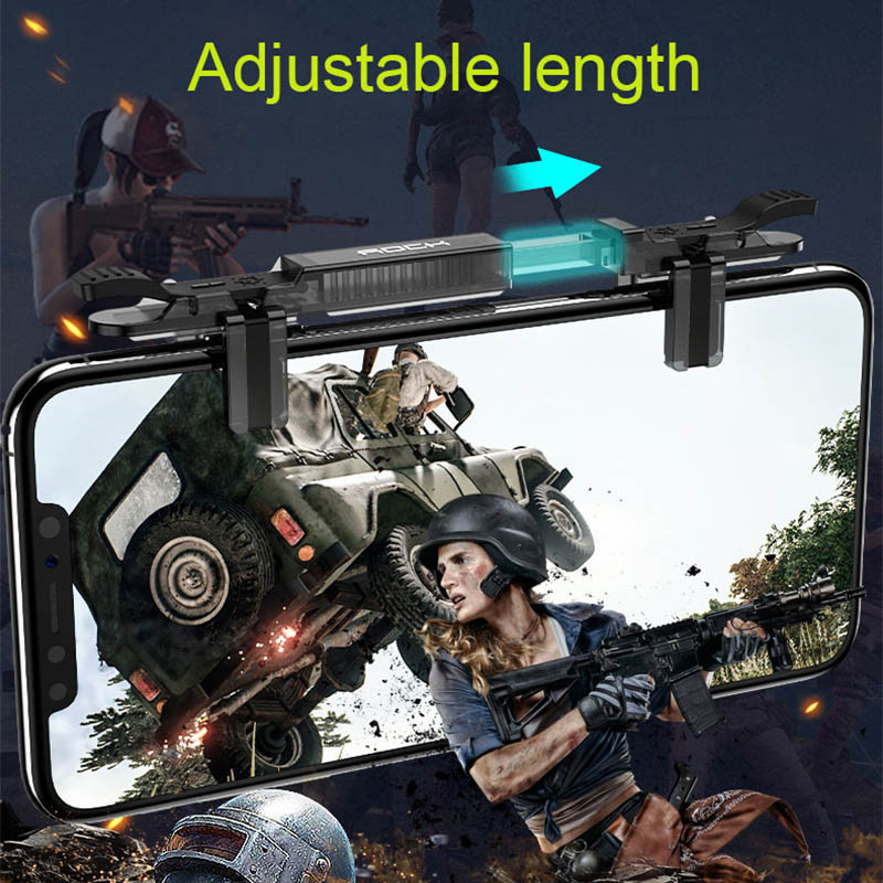 Image 5 - New Game Joystick joypad mobile for Phone Pubg Mobile Free Fire Aim Button Gaming Trigger Game Controller for pubg L1 R1 Shooter-in Gamepads from Consumer Electronics