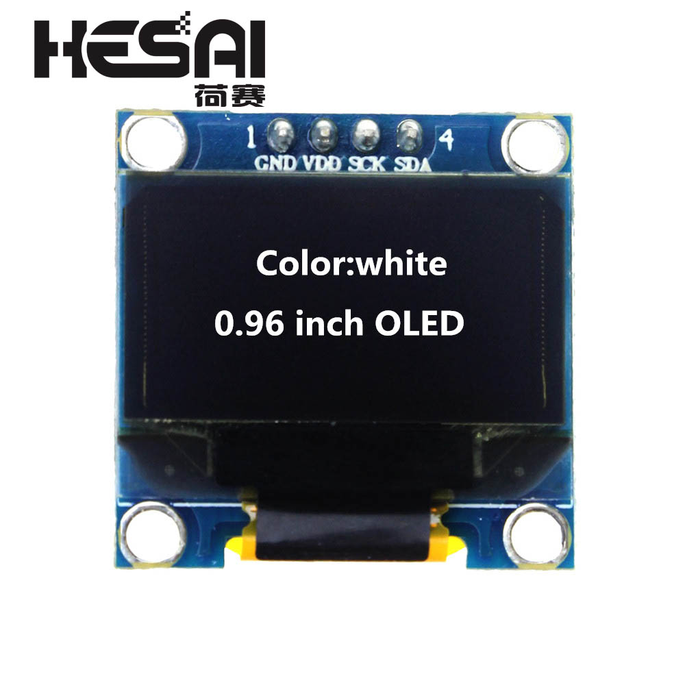 Image 4 - 1.3 Inch OLED Module White Color 128X64 OLED LCD LED Display Module 1.3 IIC I2C SPI Communicate for arduino Diy Kit-in LCD Modules from Electronic Components & Supplies