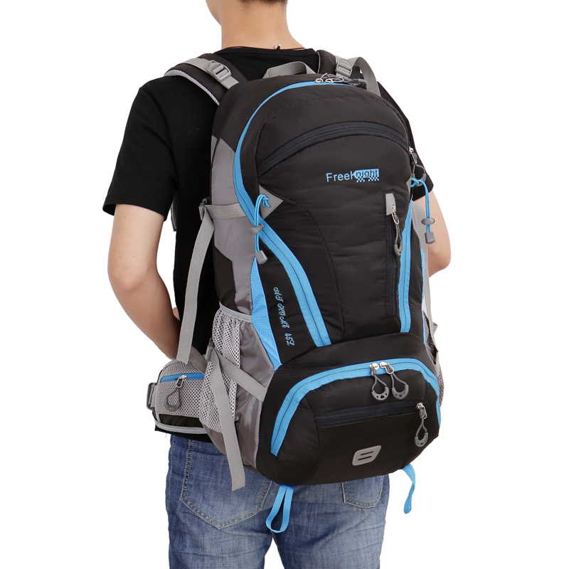 Large Capacity Camping Outdoor Backpack Men Backpack-camping Back Pack Shoulder Bag 45L Travel Backpack Waterproof camping world sosisson