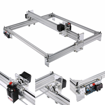 Mini Laser Engraving CNC Machine Made Of Aluminum alloy and Acrylic Frame Material for Wood