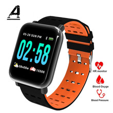 Купить с кэшбэком Men and Women Sports Smart Watch Clock IP67 Waterproof Watch Amazfit Bip Fitness Heart Rate Detection Pedometer Compatible