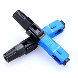 100pcs/Box New SC Optic Fiber Fast Connector FTTH SC/UPC -D Single Mode Quick Connector free shipping