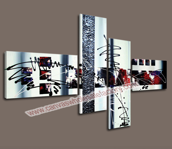 Cheap Home Decor Canvas Art Print Of Graffiti Lines