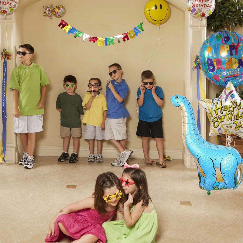 Aliexpress.com   Buy LA MIU Large 68 96CM Aluminum Foil Dinosaur Balloons  Home Birthday Party Decorations Kids Supplies Baby Cartoon Toys For Fun New  from ... 7c9707587002