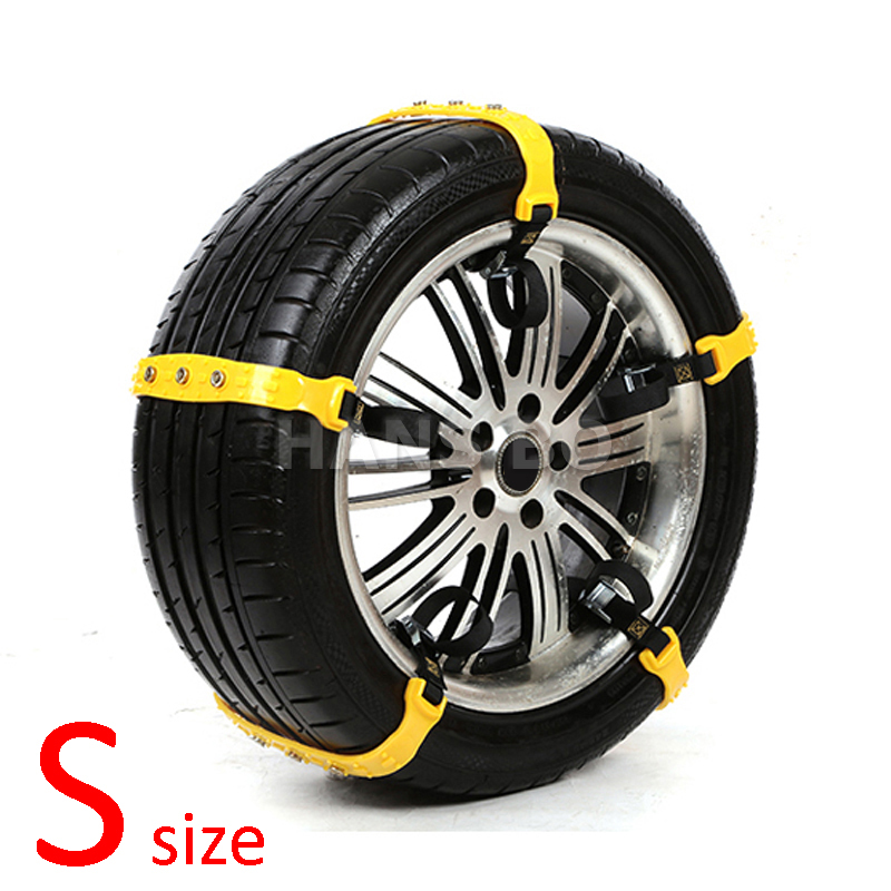 5 pcs lot s size car winter snow tire anti skid chains thickened beef tendon vehicles wheel. Black Bedroom Furniture Sets. Home Design Ideas