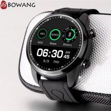 Купить с кэшбэком GPS 4G SIM Card Smart Watch WiFi 1GB RAM 16GB ROM Men Sport Smartwatch BOWANG LCD Screen Heart Rate Monitor Android 6.0 W25