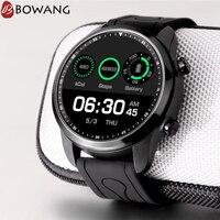 Gps 4G sim карты умные часы с wifi 1 ГБ Оперативная память 16 Гб Встроенная память Для мужчин спортивные Smartwatch BOWANG ЖК дисплей Экран монитор сердечно