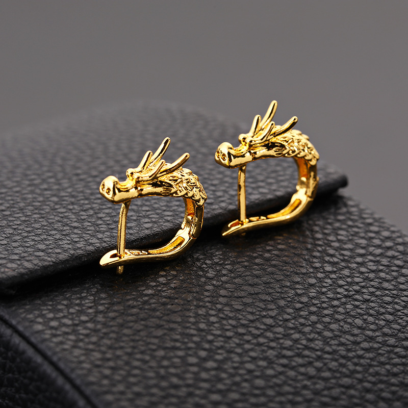Punk dragon earrings (7)