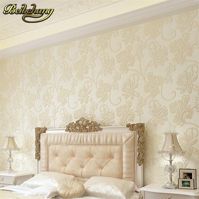 Beibehang n o tecido 3d papel de parede rolo de papel de - Papel pared autoadhesivo ...