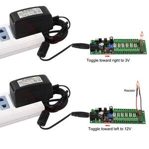 Image 5 - 1X الطاقة لوحة توزيع الذاتي التكيف الموزع HO N يا مصباح ليد للشارع محور DC AC الجهد PCB012 قطار الطاقة التحكم