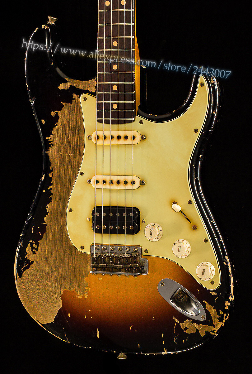 GC Custom Shop Masterbuilt John Cruz '63 Heavy Relic Electric Guitar custom shop handmade telecast electric guitar limited andy tele version master build relic tl guitar boom switch h s control