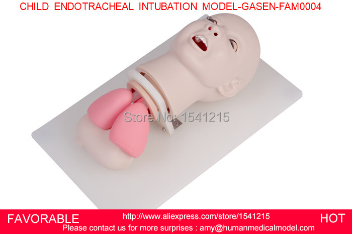 CHILD INTUBATION TRAINING MODEL, INTUBATION TRAINER,NURSING SIMULATION AND CHILD ENDOTRACHEAL INTUBATION MODEL-GASEN-FAM0004 iso economic newborn baby intubation training model intubation trainer