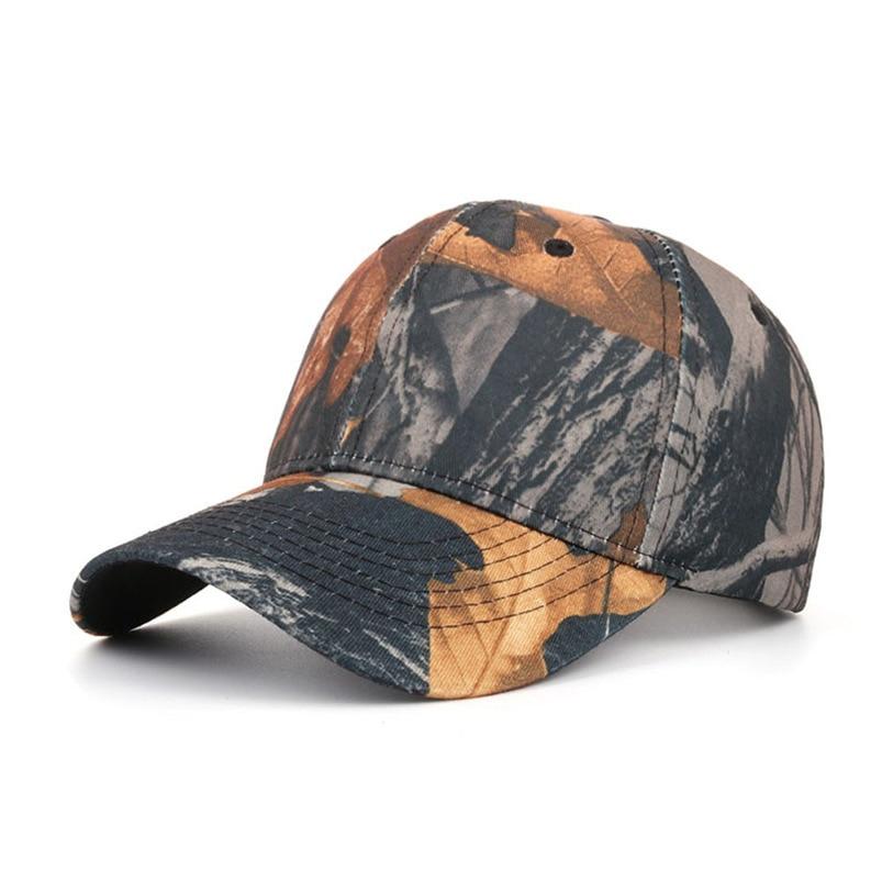 Baseball cap Women Men 2018 Snapback Hat Hip-Hop Adjustable Tactical Outdoor Camouflage Sports Summer Fall Wholesale #FM08