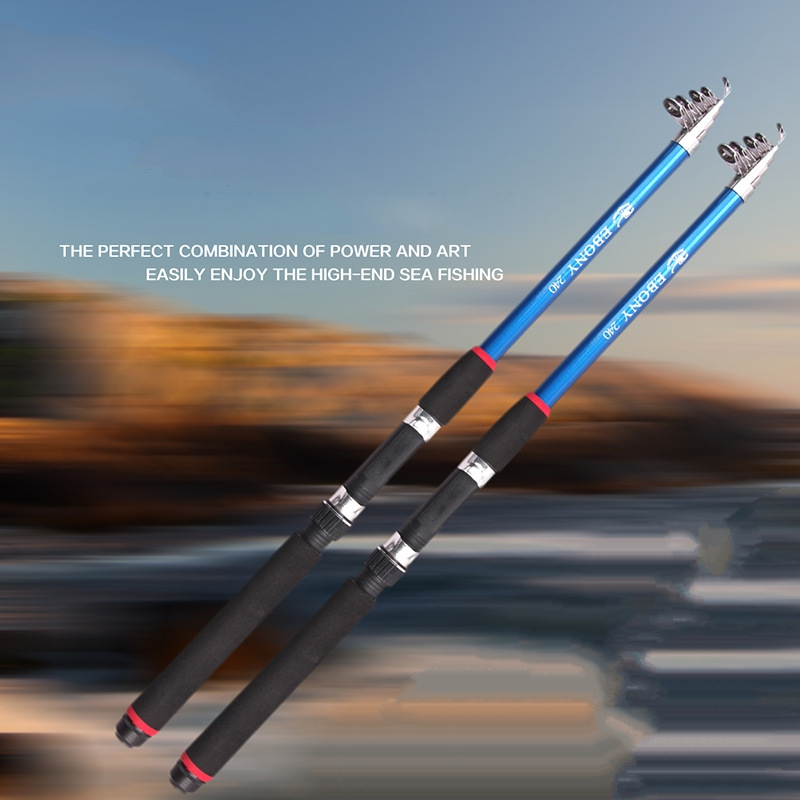New fishing tackle throwing rod telescopic fishing rods for Ultra light fishing rod