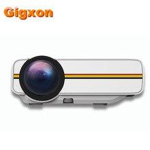 Gigxon-G400Y YG400 soporte full HD 1080 P 1000 lúmenes a casa mini proyector LED
