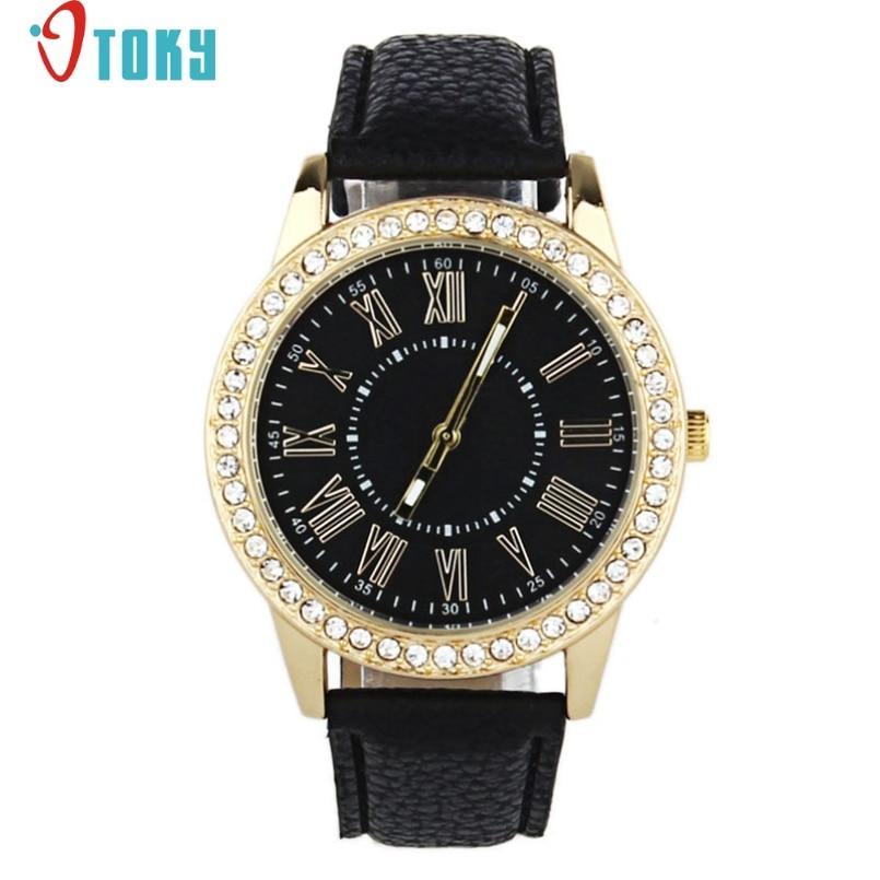 d2c08fdcaea Excelente Qualidade OTOKY Moda Assista Mulheres Relógios de Cristal Das  Senhoras Vestido De Relógio de Quartzo Rodada Relógios Analógicos Moda  Relojes Mujer