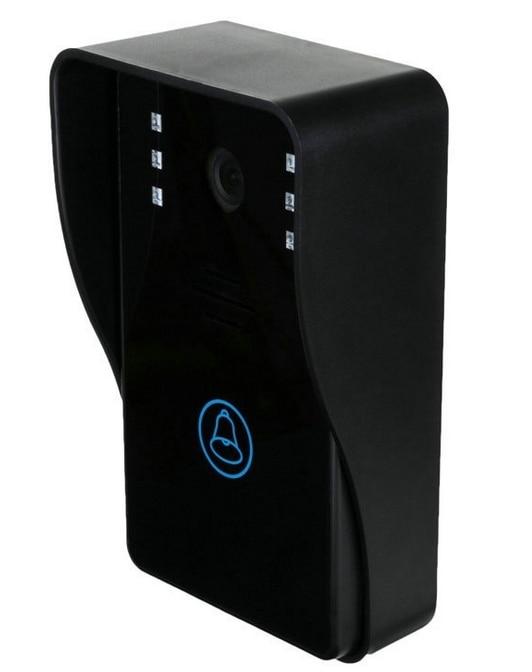 2017 Vision nocturne interphone vidéo interphone sans fil Wifi sonnette