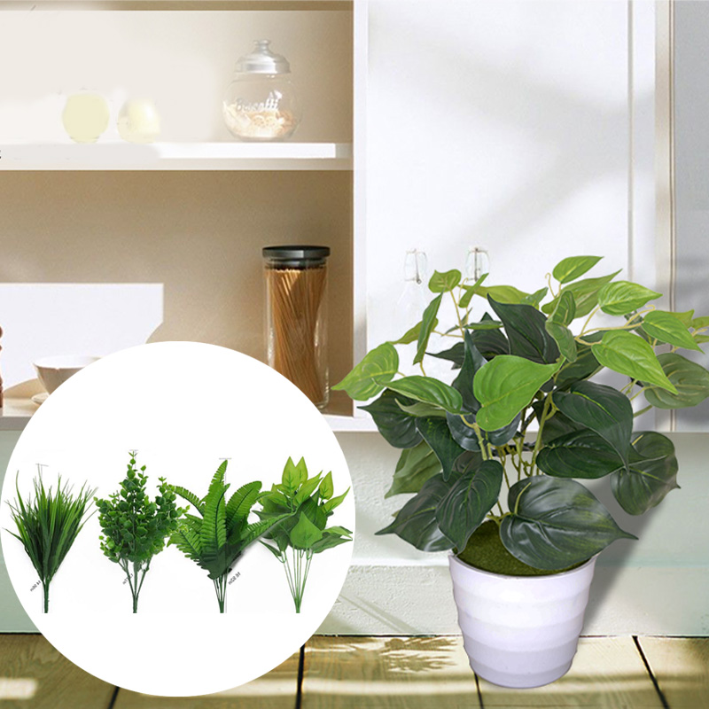 soledi artificial plants indoor fake flower leaf bush home office garden  decor-in artificial plants from home & garden on aliexpress | alibaba Artificial Plants Indoor Decoration