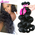 7A Unprocessed Brazilian Virgin Hair Body Wave Cheap Brazilian Hair 4 Bundles Human Hair Weave Bundle Remy Brazilian Body Wave