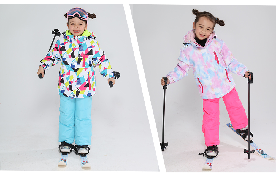 2019 crianças terno de esqui crianças marcas
