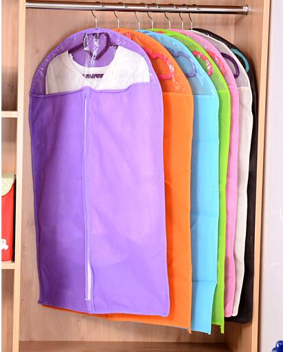 3ks Non Tkané Oblečení Taška Oblečení Oblek Kryty Oblečení Skladovací Taška Oblek Taška Cestovní Svatební šaty Cover Home Organizace Skladování