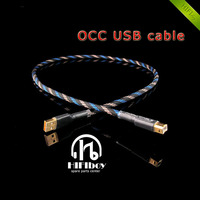 HIFIboy Hi End Audio USB Cable NEOTECH OCC USB DAC Cable HIFI USB Cable